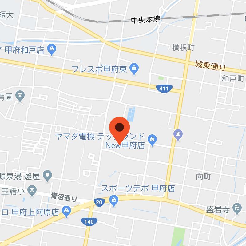 ウィル甲府店 地図